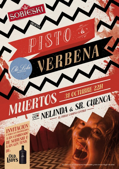 Pisto&Verbena Muertos Olé Lola