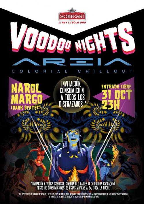 Voodo Night Areia