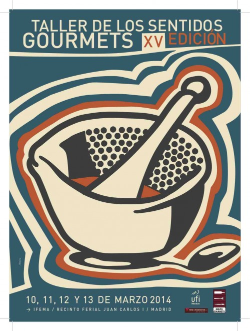 Cartel_XV_Taller_Sentidos_Gourmets